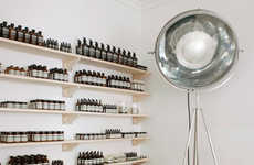Distillery-Inspired Skincare Shops - The Aesop Nottingham Shop Was Designed by Paris Studio Ciguë