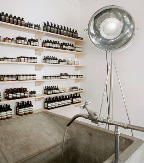 Distillery-Inspired Skincare Shops