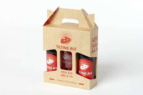 Beer-Sampling Kits - Virgin Trains' Tilting Ale Kit Comes with Two Bottles and a Glass