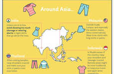 Solo Female Travel Guides - This Infographic Offers Tips on Staying Safe as a Woman Traveling Solo