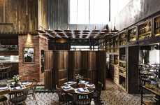 Textured Restaurant Interiors