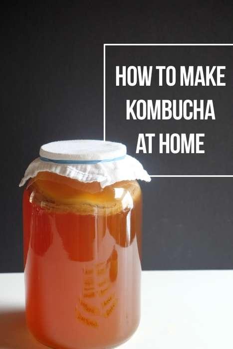 DIY Kombucha Teas
