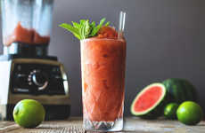 Boozy Watermelon Slushies