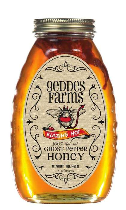 Spicy Honey Spreads