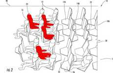 Hexagonal Airplane Seating