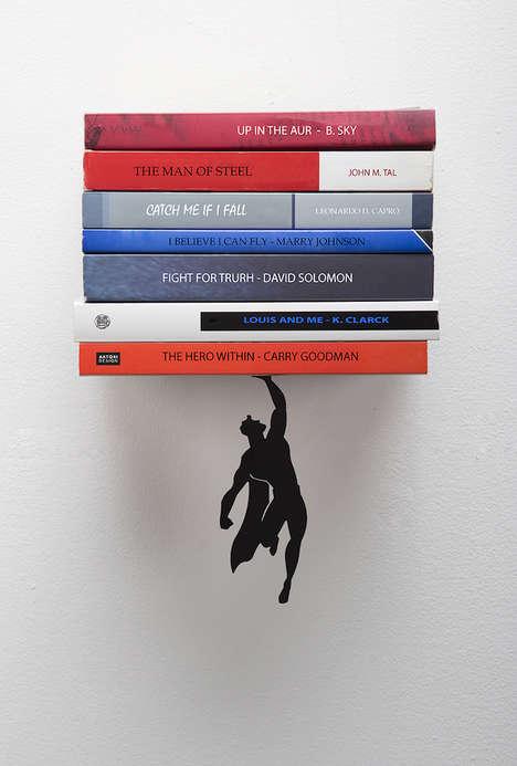 Superhero Book Shelves