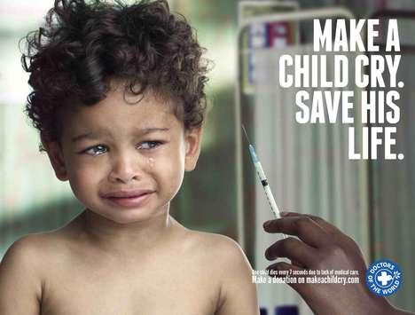 Sobbing Children Ads