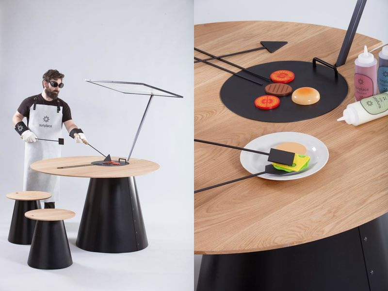 Solar Cooking Tables