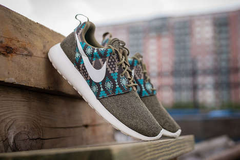 Sophisticated Sneaker Colorways - The Roshe One Iguana Boasts an Elegant Look and Comfortable Feel