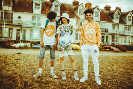 Floral Seaside Lookbooks - Hype Debuted Its Summer Collection with a Whimsical Lookbook