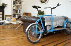 Customizable Cargo Bikes - This Compact Cargo Bike is Perfect for the Urban Environment