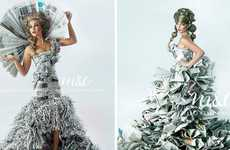 Newspaper Prom Dresses