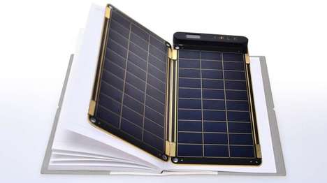 Paper-Thin Solar Chargers
