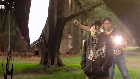 Positive Homeless People Portraits