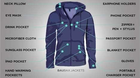Multitool Travel Jackets