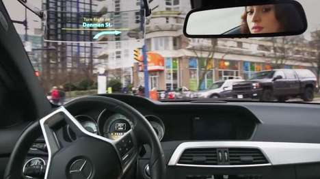 Vehicular Heads-Up Displays - The Iris Heads-Up Display Can Be Retrofitted to Existing Cars