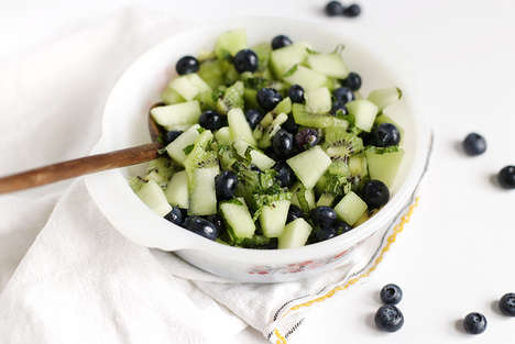 Minty Fruit Salads