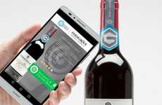 Smart Wine Bottles - These App-Connected Wines Bottles Will Ensure Authentication of Every Bottle