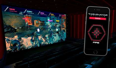 Theater Video Games - These Terminator Genisys Screenings Treat Fans to Live Gaming Experiences