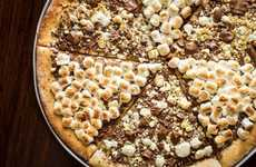 Chocolate Dessert Pizzas - This Pizza Dessert From Max Brenner is Everything Chocoholics Dream About
