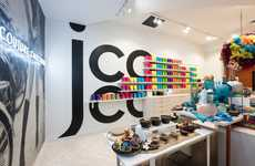 Couture Chocolate Pop-Up Shops - The 'jcoco' Shop Lets Guest Touch, Taste & Experience Luxury Cocoa