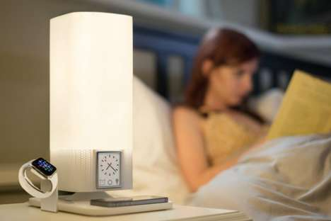 Multitasking Smart Lighting - The Luzi Sleep Lamp Helps You Sleep Better and Charges Your Devices