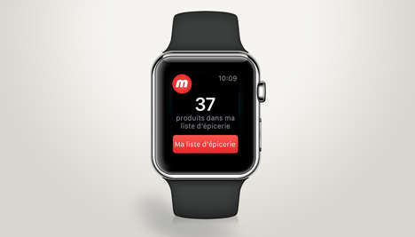 Grocery Smartwatch Apps - Metro's Grocery Store App Updates the Shopping Experience with Wearables