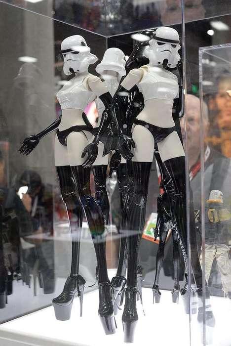 Female Cyborg Mannequins