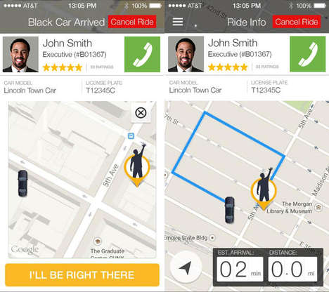 Sight-Impaired Rideshare Apps