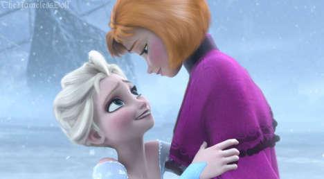 Disney Princess Hair Makeovers