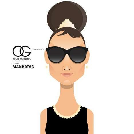 Illustrated Iconic Sunglasses