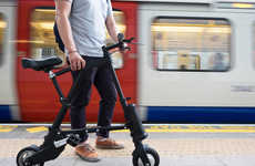 Collapsible Electric Bikes - The 'A-Bike' is the World's Lightest and Most Compact Electric Bike