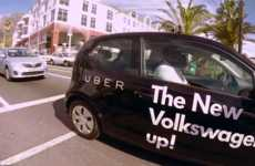 Ridesharing Test Drives - Volkswagen's Vehicle Test Drive Can Be Ordered Through Uber