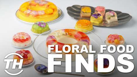 Floral Food Finds
