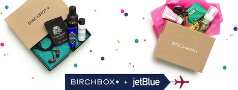 Flyer Subscription Kits - JetBlue Teamed Up with Birchbox to Offer Flyers Goodies While Traveling