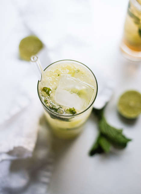 Refreshing Vegetable Cocktails