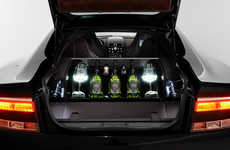 Vehicle Champagne Cellars - This James Bond-Inspired Champagne Cellar Offers Dom Pérignon