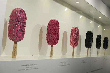 Ice Cream Bar Pop-Ups - Magnum's London Pleasure Store Lets You Customize Your Own Dessert