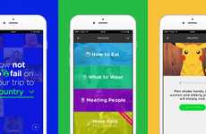 Cutural Customs Apps - The FailPop Travel App Design Ensures You Understand Various Social Cues