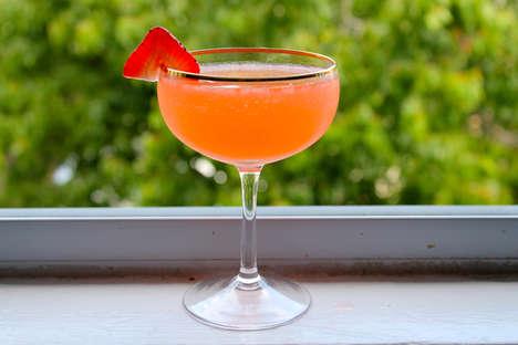 Tangy Watermelon Daiquiris