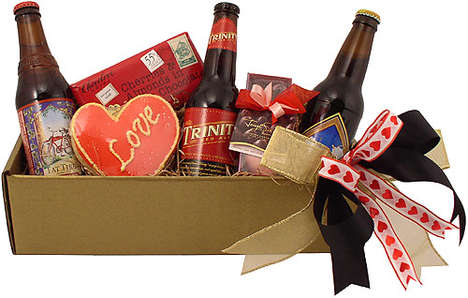 Romantic Beer Baskets