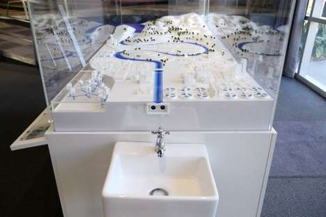 Mindful Water Taps - WWF Reveals the Water Consumption Journey with a Special Sink