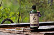 Berry Whiskey Bitters - The Wild Sloe Berry Bitters are the Newest Addition to the Jameson Brand
