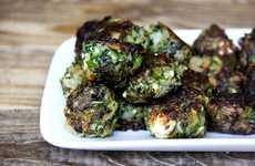 Leftover Veggie Meatballs - These Fried Veggie Meatless Balls are a Way to Use Leftover Vegetables