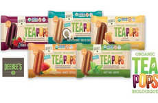 Organic Tea Popsicles - DeeBee's TeaPops Aim to be the Healthiest Popsicle Snacks