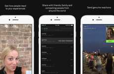 Honest Video Apps - The Beme App by Casey Neistat Allows You to Capture Authentic Video Content