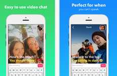 Silent Video Messengers - The New Yahoo Livetext App was Released in Hong Kong on the Down-Low