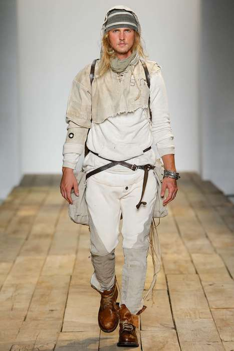 Vintage Voyager Menswear - This Greg Lauren Spring Collection is Fit for Explorers