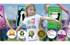 Child-Friendly Fitness Games - The Flip2BFit Children's Board Game Encourages Kids to Be Active
