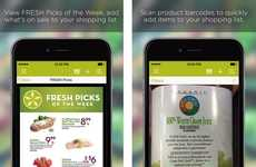 Budget-Conscious Grocery Apps - The FRESH Mobile App Gives Users Access to Deals and Dining Ideas